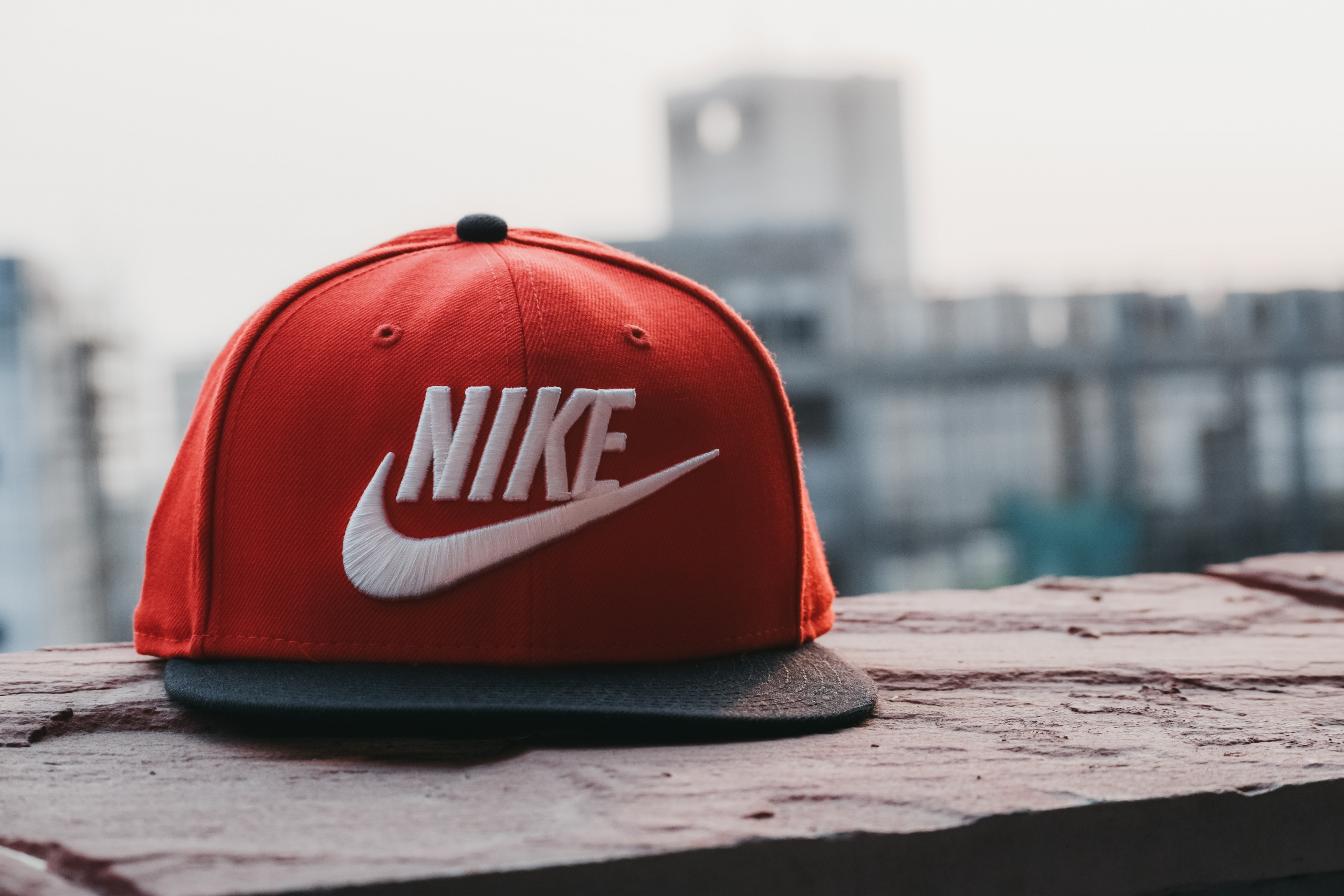 red and black nike fitted cap 1124465 scaled